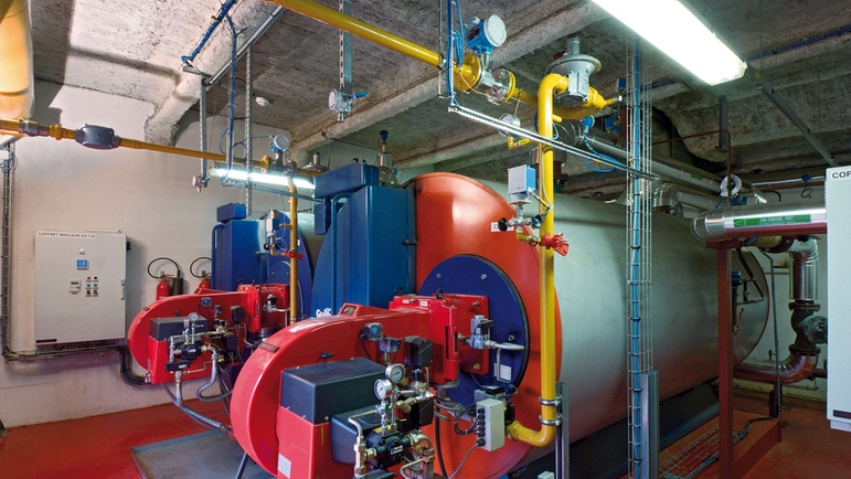 Smart scale energy solutions for steam boilers for substantial fuel savings