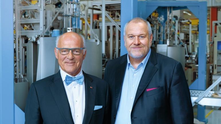 克劳斯·恩德斯(Klaus Endress)和Matthias Altendorf 2019